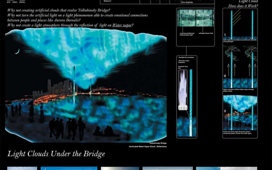 Light clouds Under the Bridge