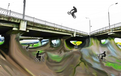 BMX dirt track / Skatepark