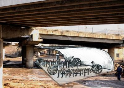 Велостоянка и Велопрокат под Добрынинским мостом
